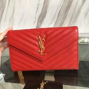 YSL Saint Laurent Bag New Check Description